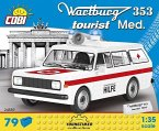 COBI 24559 - Youngtimer Collection, Wartburg 353, Tourist Med, Bausatz, 79 Teile, 1:35