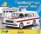 COBI 24559 - Youngtimer Collection, Wartburg 353, Tourist Med, Bausatz, 79 Teile, 1:35