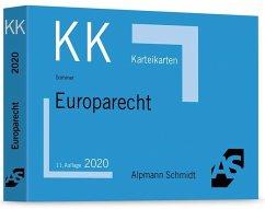 Karteikarten Europarecht - Sommer, Christian