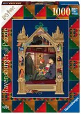 Ravensburger 16515 - Harry Potter Weg auf dem Weg nach Hogwards, Puzzle, 1000 Teile
