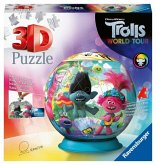 Ravensburger 11169 - Trolls World Tour, 3D-Puzzle-Ball