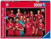 Ravensburger 16514 - FC Bayern Saison 2020/21, Puzzle, 1000 Teile