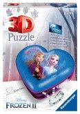 Ravensburger 11236 - Frozen 2, Herzschatulle, 3D Puzzle, 54 Teile