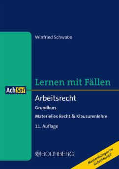 Arbeitsrecht - Schwabe, Winfried