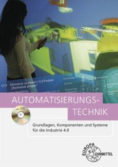Automatisierungstechnik, m. DVD-ROM - Baur, Jürgen;Kalhöfer, Eckehard;Kaufmann, Hans