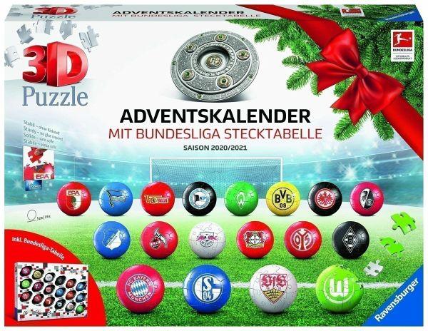 Ravensburger 11178 Bundesliga 3D Puzzle Saison 2020/21