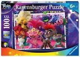 Ravensburger 12912 - Trolls, Unsere Lieblingslieder, XXL-Puzzle, 100 Teile