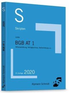 Skript BGB AT 1 - Lüdde, Jan S.