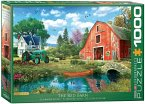 Eurographics 6000-5526 - Dominic Davison, The Red Barn, Puzzle, 1000 Teile