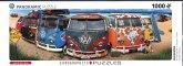 Eurographics 6010-5442 - Panorama Puzzle, Kombination, VW-Bulli, 1000 Teile