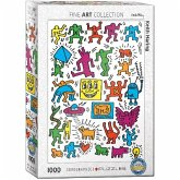 Eurographics 6000-5513 - Keith Haring Collage, Puzzle, 1000 Teile
