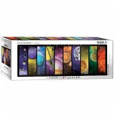 Eurographics 6010-0308 - Panorama Puzzle, The Solar System, Das Sonnensystem, 1000 Teile