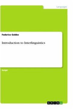 Introduction to Interlinguistics