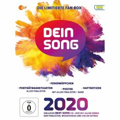 Dein Song 2020, 2 Audio-CD + 1 DVD (Limitierte Fanbox) - Various Artists