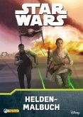 Star Wars, Das Erwachen der Macht - Helden-Malbuch (Mängelexemplar)