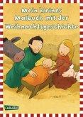 Mein kleines Malbuch mit der Weihnachtsgeschichte (Mängelexemplar)