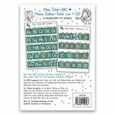 Mein Tafel-ABC Grundschrift mit Artikeln + Meine Zahlen-Tafel von 1-20, 2 Lernposter, glänzend, 300g, 32 x 46 cm