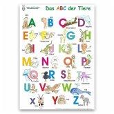 Das ABC der Tiere Lernposter DIN A3 laminiert