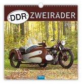 """Technikkalender """"DDR-Zweiräder"""" 2021"""