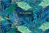 rido Taschenkalender 2021 septimus Grafik, Tropical
