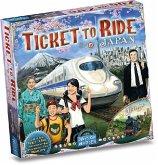 Asmodee DOWD0018 - Ticket to Ride, Zug um Zug, Japan + Italien, Brettspiel, Erweiterung