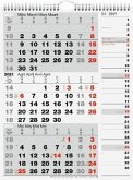 rido Dreimonatskalender 2021 Kombi-Planer 3