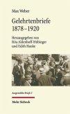 Gelehrtenbriefe 1878-1920