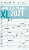 Familienplaner XL 2021 mit 6 Spalten - Offset-Papier - Familienkalender - Familientimer