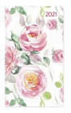 Ladytimer Slim Roses 2021 - Taschen-Kalender