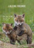 Kleine Freunde 2021 - Bild-Kalender 24x34 cm - Tier-Kalender - Wandkalender - mit Platz für Notizen - Alpha Edition
