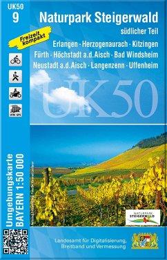 UK50-9 Naturpark Steigerwald, südlicher Teil