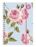 Collegetimer A5 Woche Roses Ringbuch 2020/2021