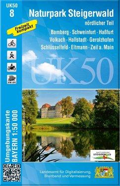 UK50-8 Naturpark Steigerwald, nördlicher Teil
