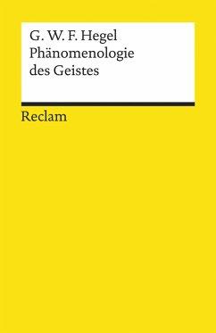 Phänomenologie des Geistes (eBook, ePUB) - Hegel, Georg Wilhelm Friedrich