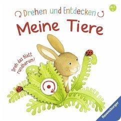 Drehen und Entdecken: Meine Tiere (Restauflage) - Grimm, Sandra