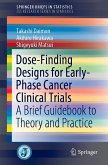 Dose-Finding Designs for Early-Phase Cancer Clinical Trials (eBook, PDF)