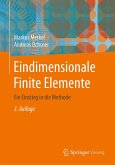 Eindimensionale Finite Elemente (eBook, PDF)