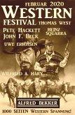 Wildwest Festival Februar 2020 - 1000 Seiten Western Spannung! (eBook, ePUB)