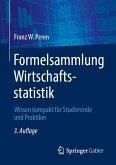 Formelsammlung Wirtschaftsstatistik (eBook, PDF)