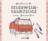 Österreichische Feuerwehrautos zum Ausmalen