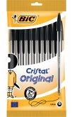 BIC Kugelschreiber Cristal Original 0.4mm schwarz, 10er Set