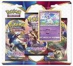 Pokémon (Sammelkartenspiel), PKM SWSH01 3-Pack Blister deutsch