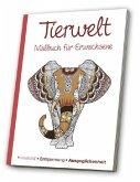 Malbuch für Erwachsene - Meine Tierwelt