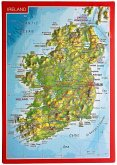 Reliefpostkarte Irland
