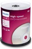 1x100 Philips DVD+R 4,7GB 16x SP