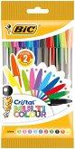 BIC Kugelschreiber Cristal Multicolor 0.6mm sortiert, 10er Set