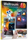 Weltraum 4D - Sterne, Planeten, Galaxien mit APP virtuell durch den Weltall
