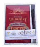 Harry Potter: Harry Potter Ruled Journal and Wand Pen Set [With Wand Pen]