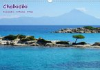 Chalkidiki: Kassandra, Sithonia, Athos (Wandkalender 2021 DIN A3 quer)