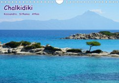 Chalkidiki: Kassandra, Sithonia, Athos (Wandkalender 2021 DIN A4 quer)